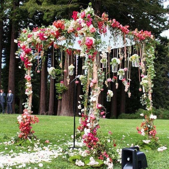 Tips for a Floral Themed Wedding Decor