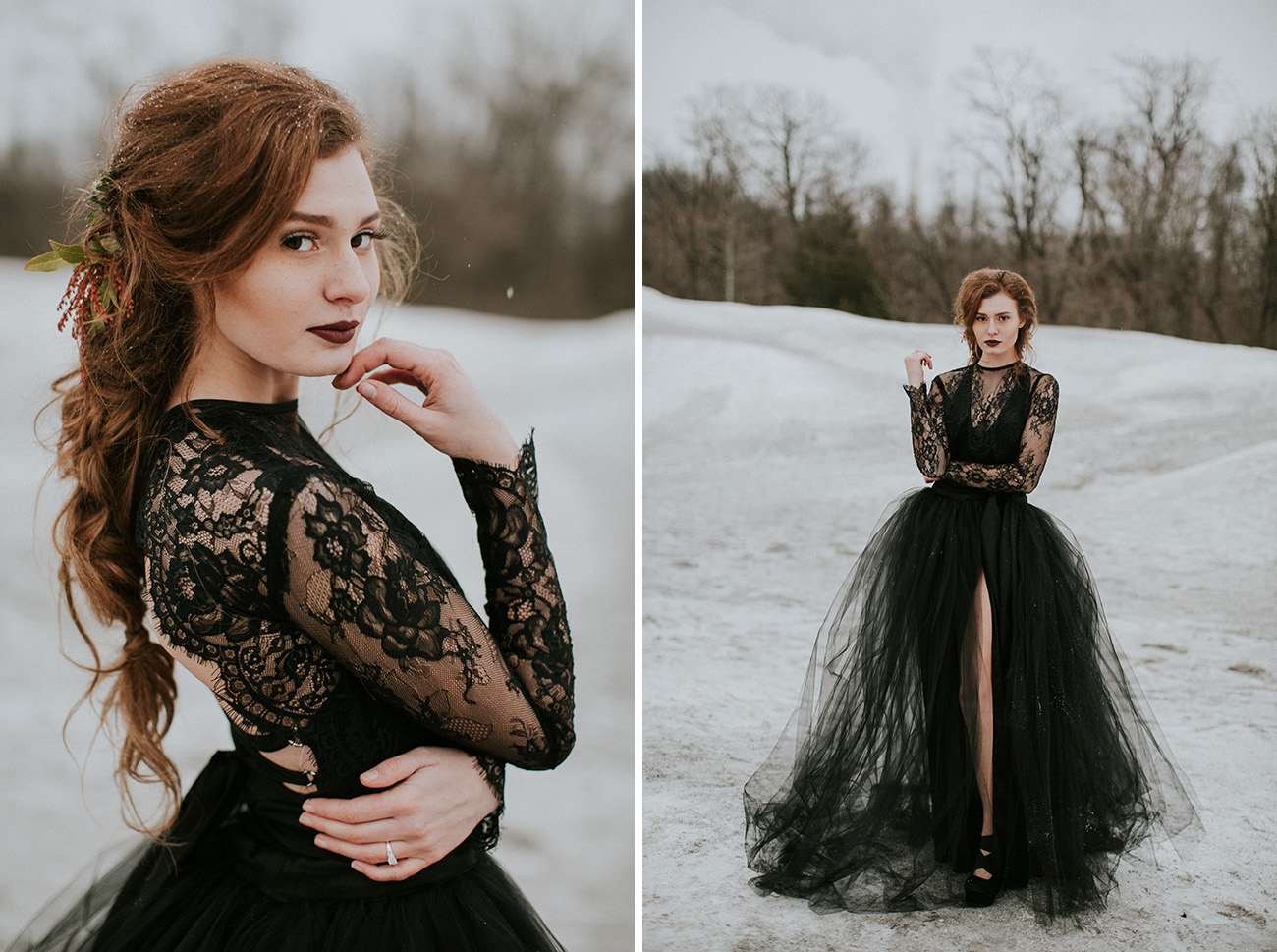 8 Black Wedding Dress For Every Bride To Stand Out – Trendy