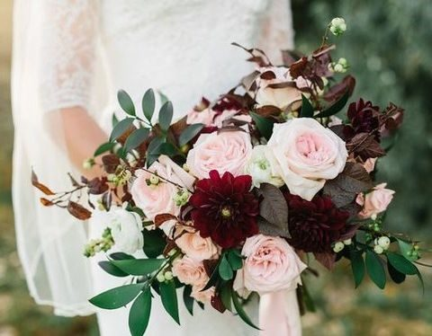 Burgundy-And-Blush-Wedding-Ideas
