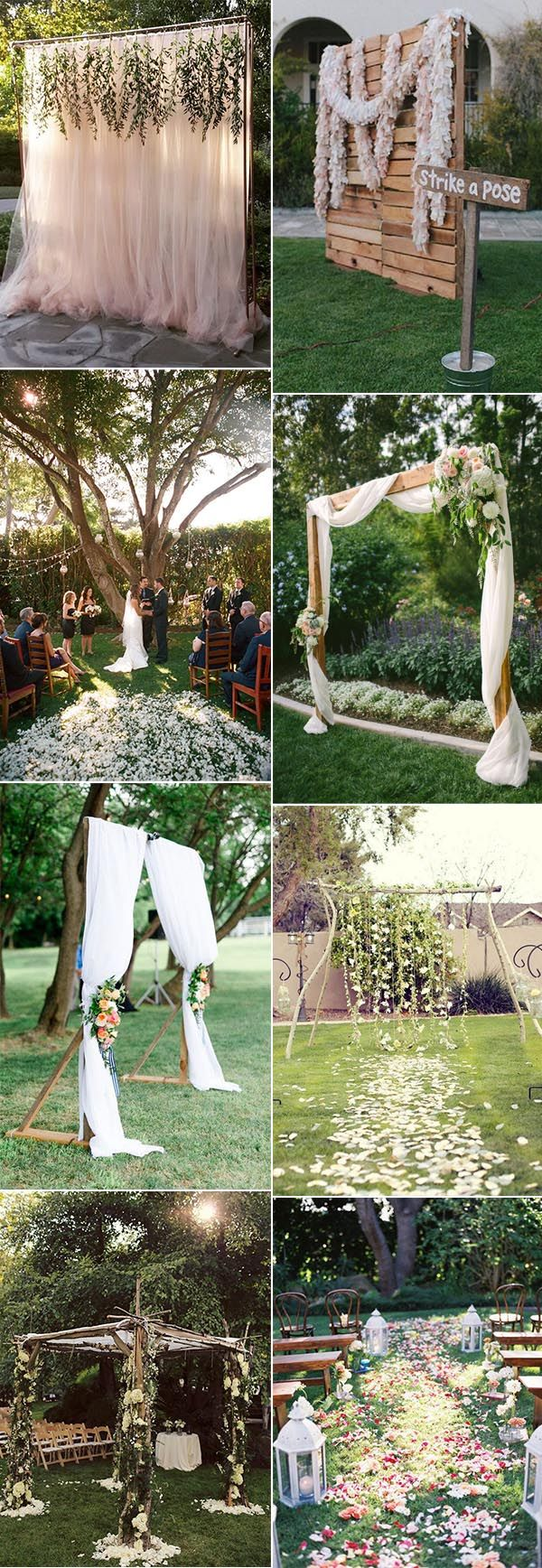 37 Backyard Wedding Ideas To Stand Out 2019 – Trendy Wedding Ideas Blog