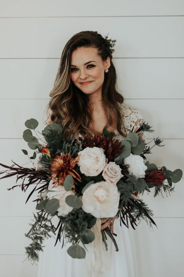 Neutral Flower Bouquets