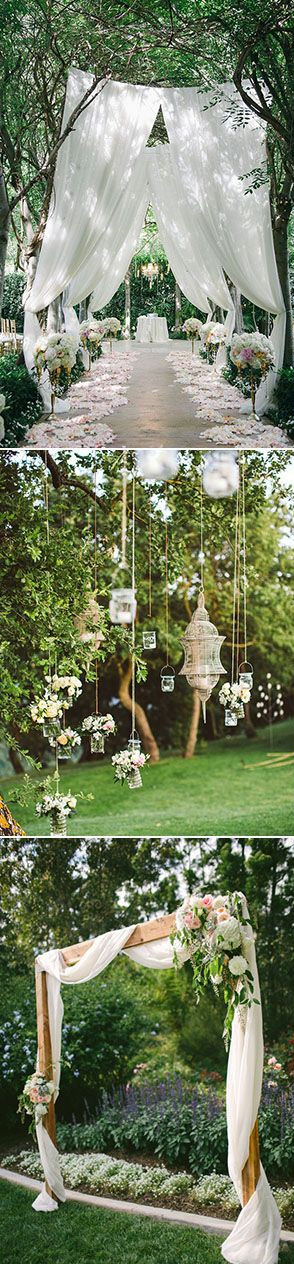 Beautiful Garden Wedding Ideas