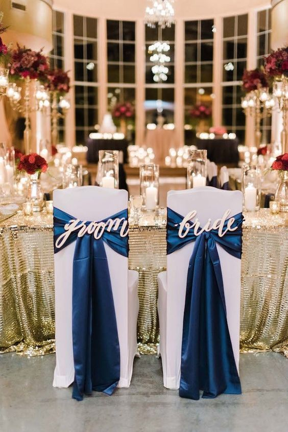 Navy Blue Wedding Theme Ideas
