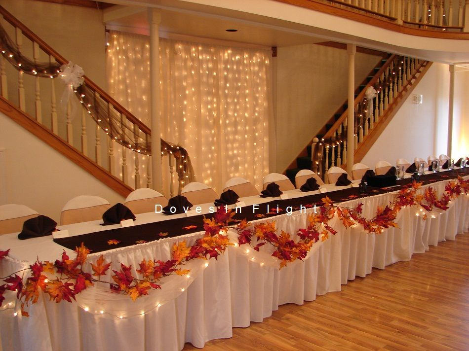 30 Fall Wedding Decor Ideas for Your Wedding – Trendy Wedding ...