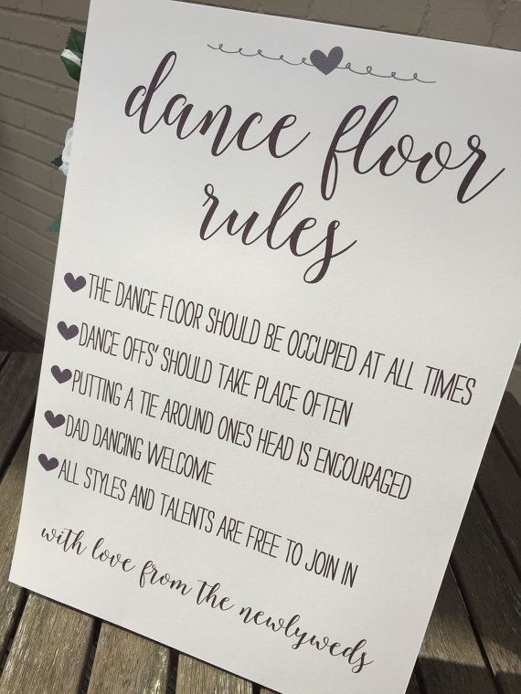 wedding signs ideas In Different Styles