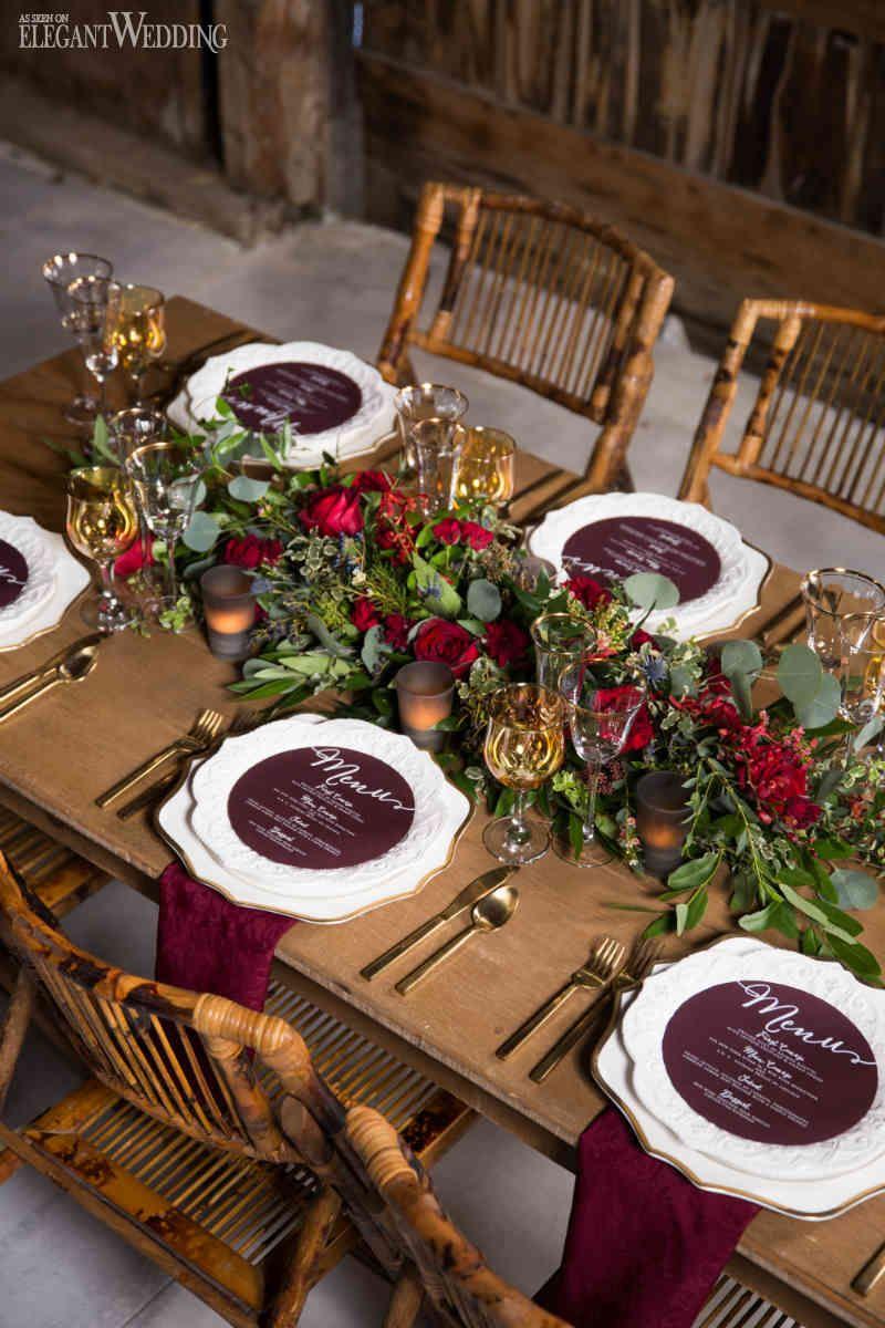 31 Trendy Rustic Wedding Table Runner Ideas To LOVE – Trendy Wedding Ideas  Blog