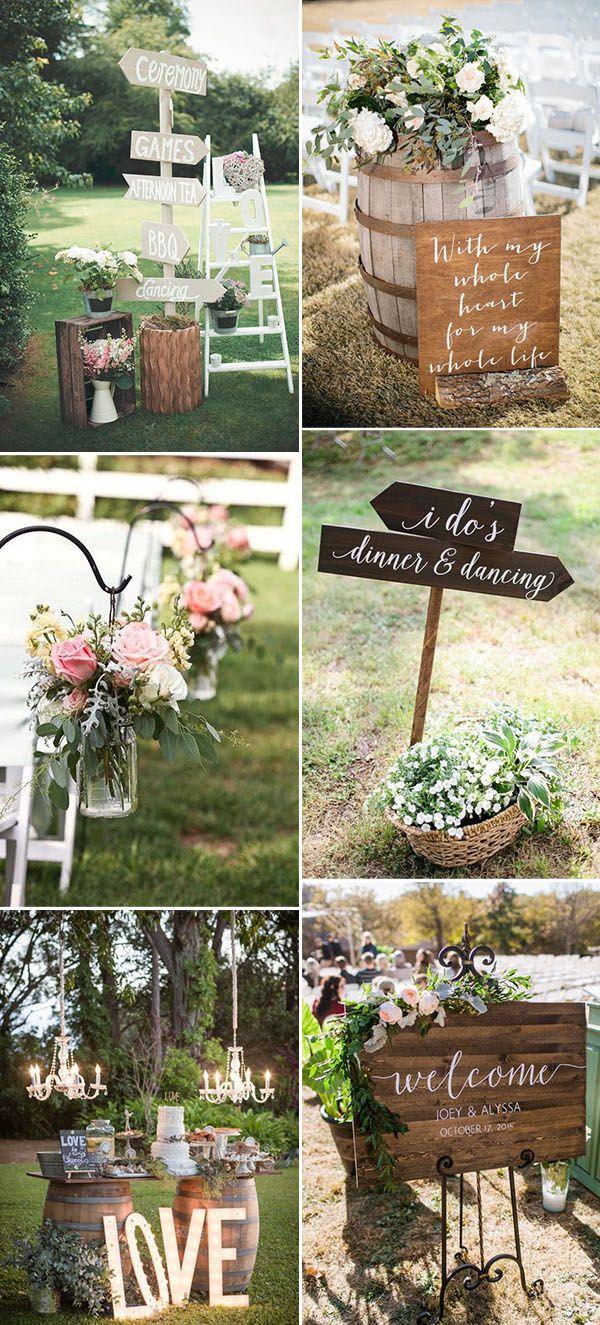 Beautiful Garden Wedding Ideas