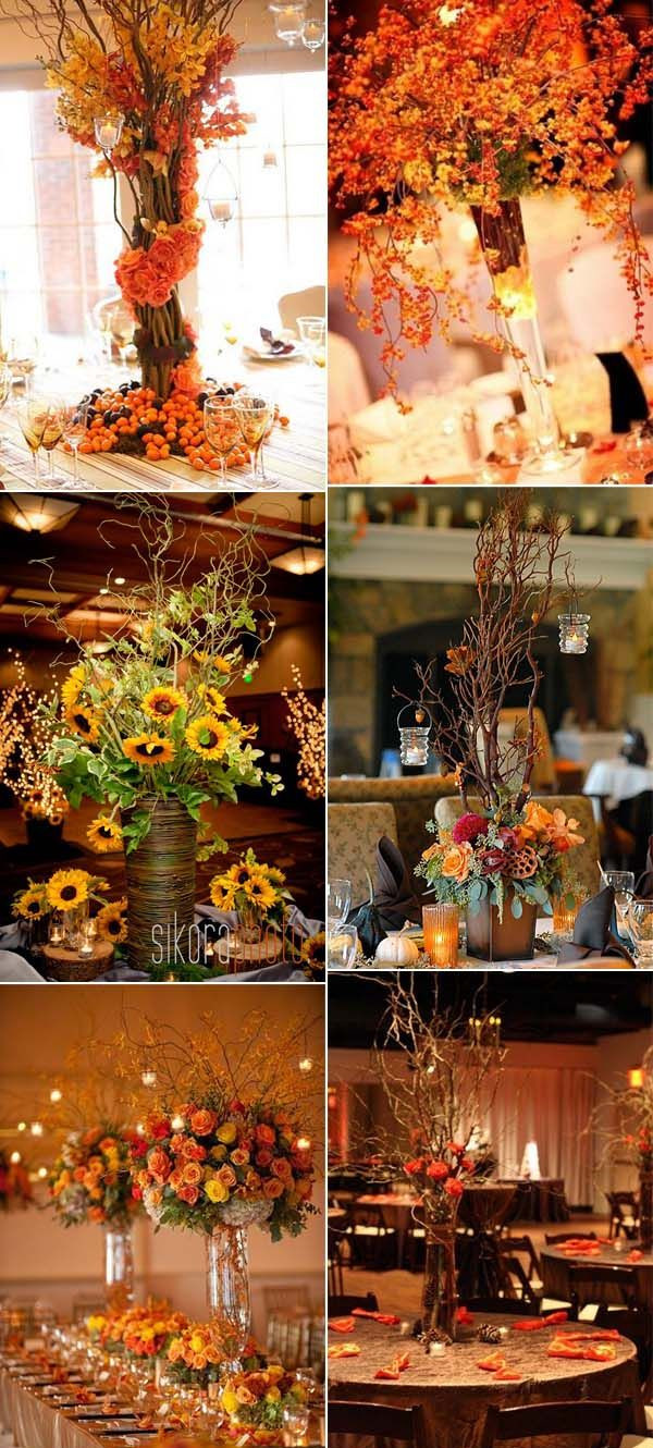 30 Fall Wedding Decor Ideas for Your Wedding – Trendy Wedding Ideas Blog