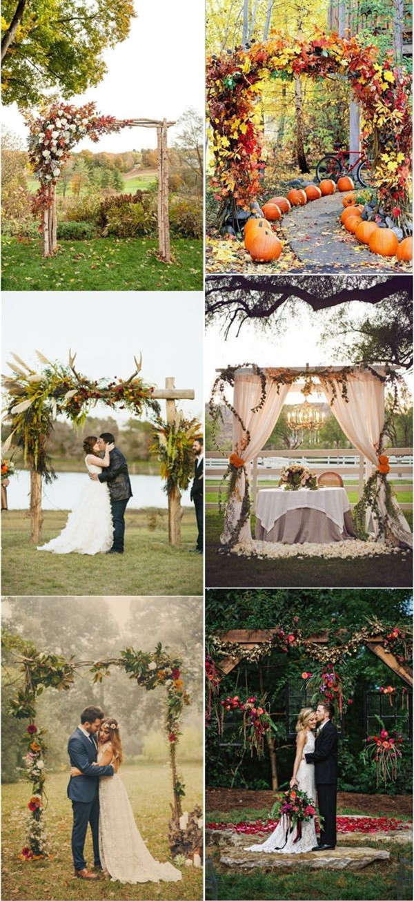30 Fall Wedding Decor Ideas for Your Wedding – Trendy Wedding ...