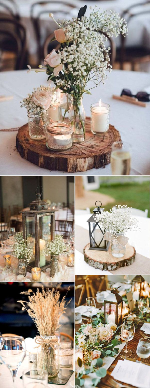 41 Rustic Wedding Decorations Into Your Wedding – Trendy Wedding Ideas Blog